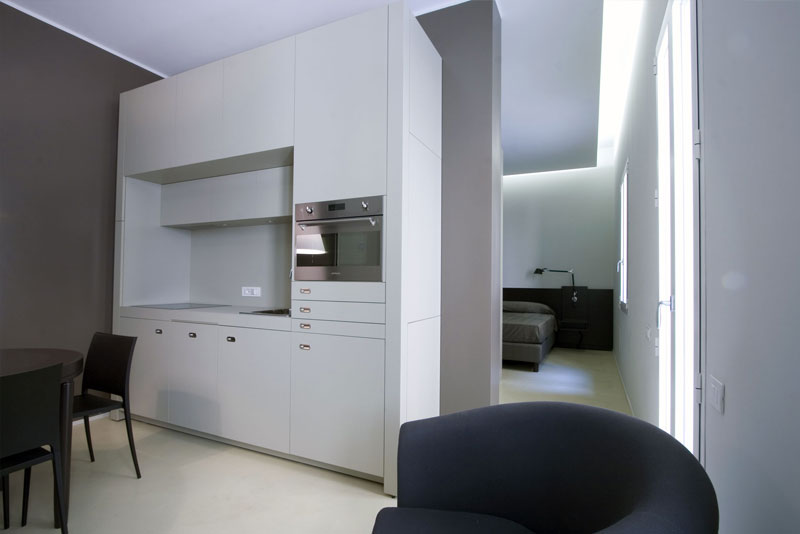 Two-room apartments for 1/2 people